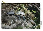 Three Turtles Carry-all Pouch