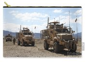 Three U.s. Army Mine Resistant Ambush Carry-all Pouch
