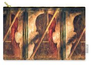 Three Violins Carry-all Pouch by Bob Orsillo