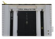 Three Whale Oil Row - Black Door - New London Carry-all Pouch
