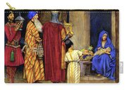 Three Wise Men Bearing Gifts Carry-all Pouch