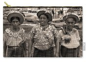 Three Women In Atitlan Carry-all Pouch