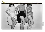 Three Women Lift Their Skirts Carry-all Pouch by Underwood Archives
