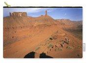 Three Women Mountain Biking In Moab Carry-all Pouch