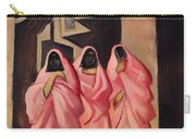 Three Women On The Street Of Baghdad Carry-all Pouch