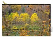 Three Yellow Trees Carry-all Pouch