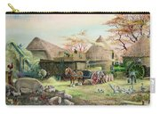 Threshing In Kent Carry-all Pouch by Dudley Pout