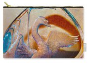 Through A Glass Goose Darkly Carry-all Pouch