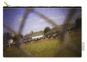 Through The Fence Water Color Carry-all Pouch