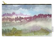 Through The Trees Carry-all Pouch by Linda Woods