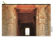 When Windows Become Art - Jain Temple - Amarkantak India Carry-all Pouch