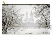 Through Winter Trees - Central Park - New York City Carry-all Pouch