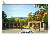 Thru Roddick Gates Your Future Awaits Mcgill University Paintings Montreal Art Carole Spandau Carry-all Pouch