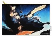 Thunder Clouds Expressive Brushstrokes Carry-all Pouch