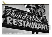 Thunderbird Utah Black And White Carry-all Pouch
