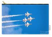 Thunderbirds And Blue Sky  Carry-all Pouch