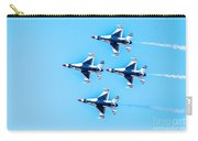 Thunderbirds Flying Over Carry-all Pouch