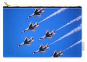 Thunderbirds Jet Team Flying Fast Carry-all Pouch