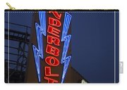 Thunderbolt Rollercoaster Neon Sign Carry-all Pouch