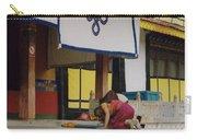 Tibet Prayer 1 Carry-all Pouch