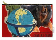 Tibetan Mastiff Art Canvas Print - The Great Dictator Movie Poster Carry-all Pouch