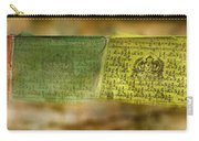 Tibetan Prayer Flags Carry-all Pouch