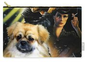Tibetan Spaniel Art - Blade Runner Movie Poster Carry-all Pouch