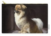 Tibetan Spaniel Painting Carry-all Pouch