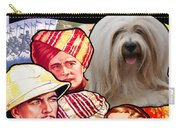 Tibetan Terrier Art - The Lives Of A Bengal Lancer Movie Poster Carry-all Pouch