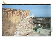 Tiburon And Basketball Court At The Top Of The Fort Wall Carry-all Pouch