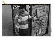 Ticket Booth Traveling Carnival Us Mexico Border Naco Sonora Mexico 1980 Carry-all Pouch