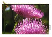 Tickled Thistle Carry-all Pouch