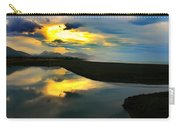 Tidal Pond Sunset New Zealand Carry-all Pouch