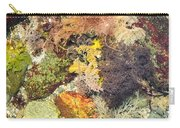 Tidal Pool Color Carry-all Pouch by Debbie Green