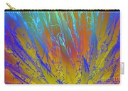 Tie Dye Agave Carry-all Pouch