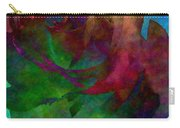 Tie Dye Rose Carry-all Pouch
