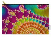 Tie Dye Spiral  Carry-all Pouch