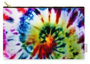 Tie Dyed T-shirt Carry-all Pouch
