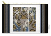 Tied To My Concrete Garden - Kaleidoscope - Hexaptych Carry-all Pouch