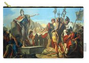 Tiepolo's Queen Zenobia Addressing Her Soldiers Carry-all Pouch