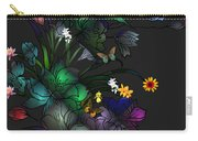 Tiffany Floral Design Carry-all Pouch