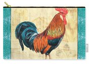 Tiffany Rooster 1 Carry-all Pouch by Debbie DeWitt