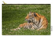 Tiger At Rest 3 Carry-all Pouch