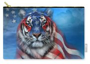 Tiger Flag Carry-all Pouch