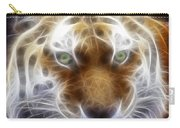Tiger Greatness Digital Painting Carry-all Pouch