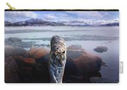 Tiger In A Lake Carry-all Pouch