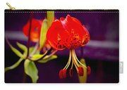 Tiger Lilly In Repose Carry-all Pouch