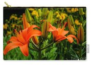 Tiger Lily Blossoms Carry-all Pouch