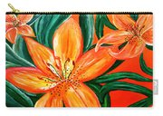 Tiger Lily Trio Carry-all Pouch