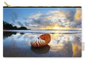 Tiger Nautilus Sunrise Carry-all Pouch